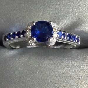 Jewelry - Blue Sapphire Ring size 10